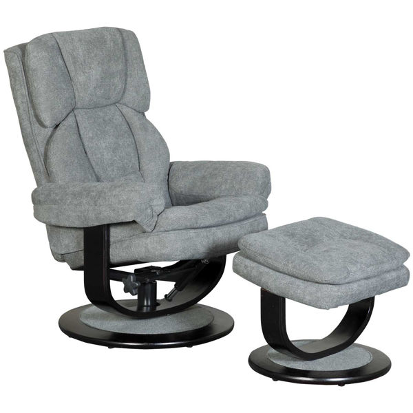 Picture of Ferris 2 Piece Recliner with Ottoman