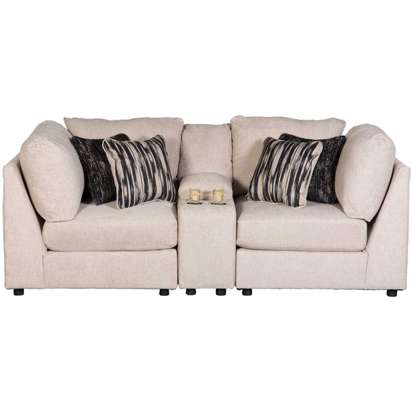 Picture of Kellway 3 Piece Console Loveseat