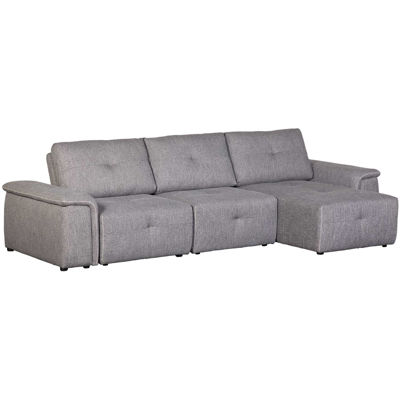 Picture of Adapt Gray 5 Piece Sectional with Chaise