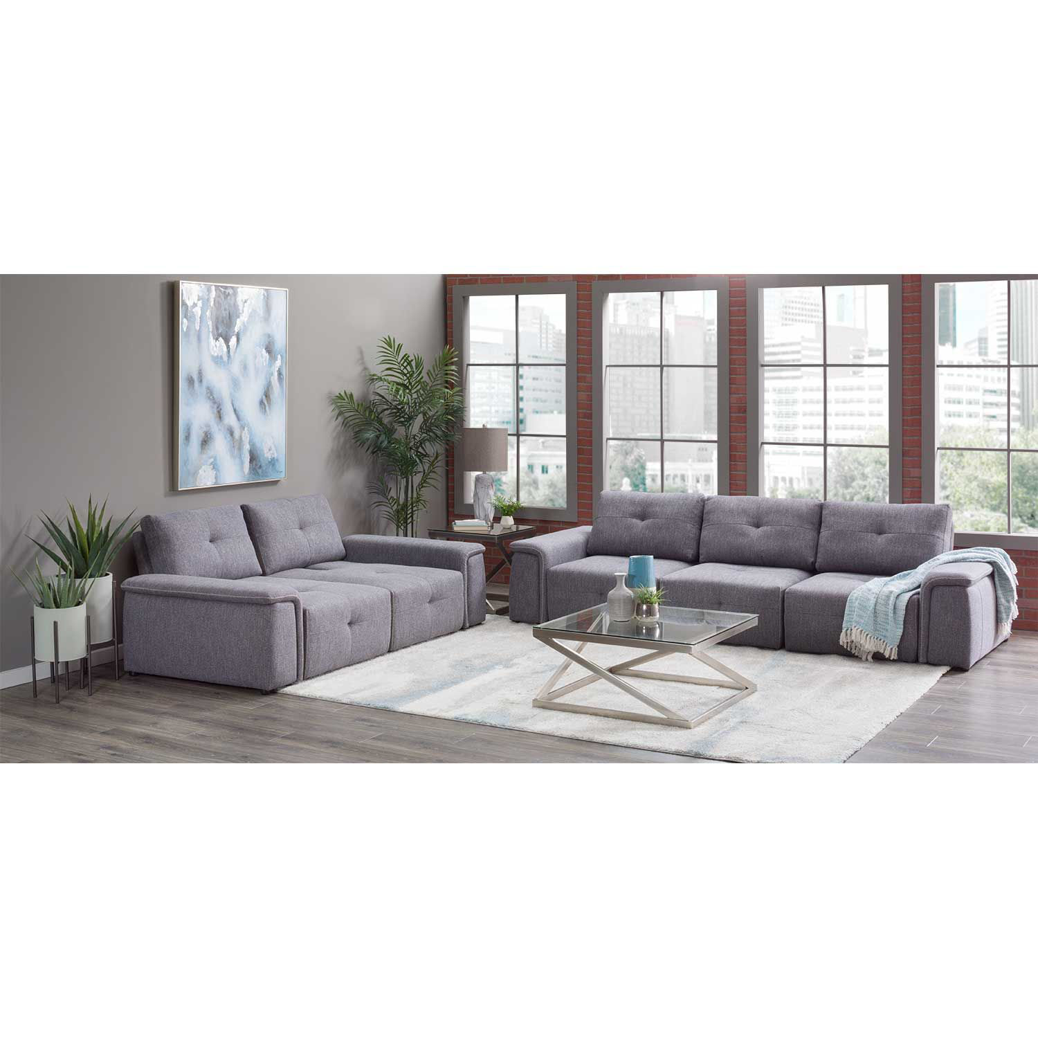 Picture of Adapt Gray Loveseat