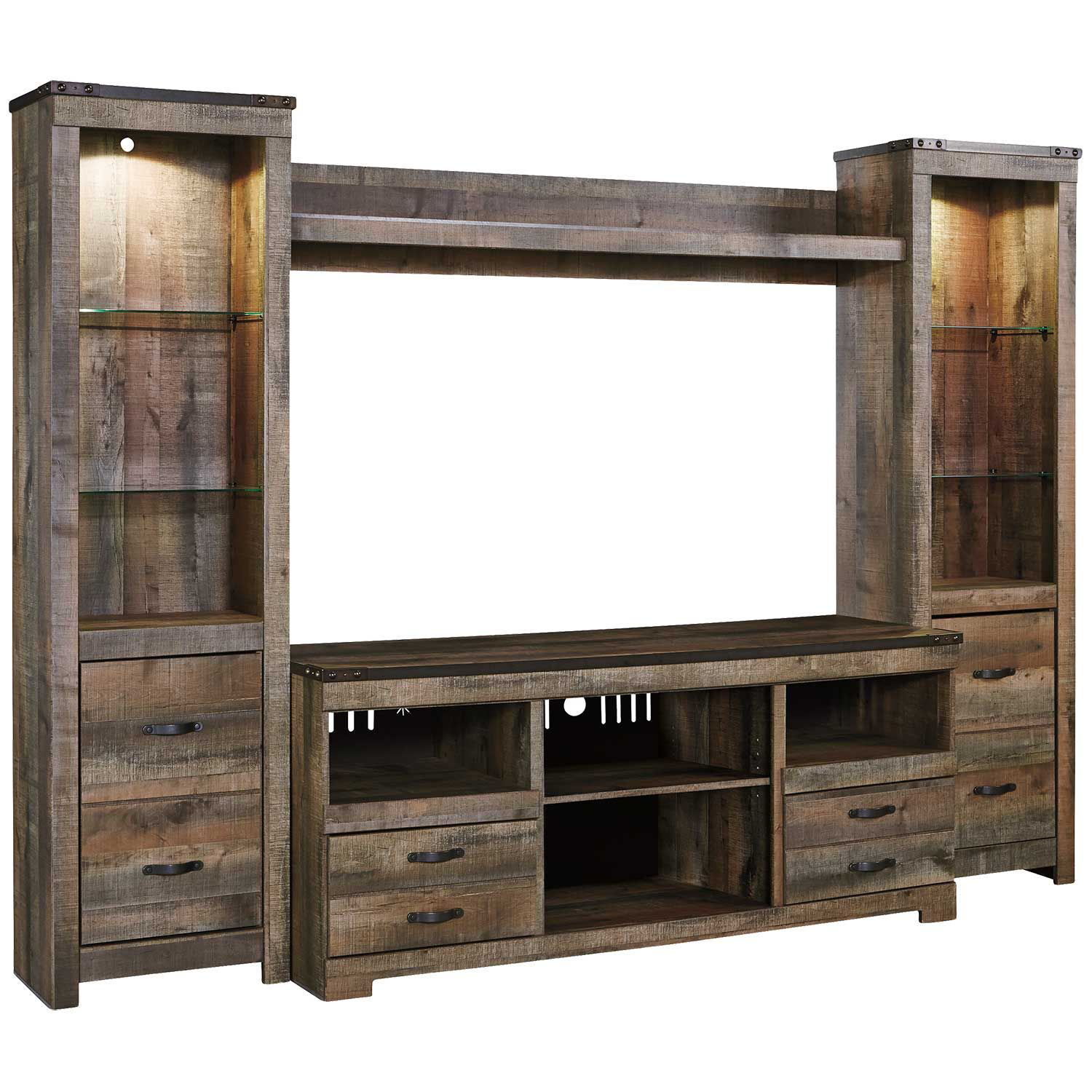 Picture of Trinell Entertainment Wall Unit