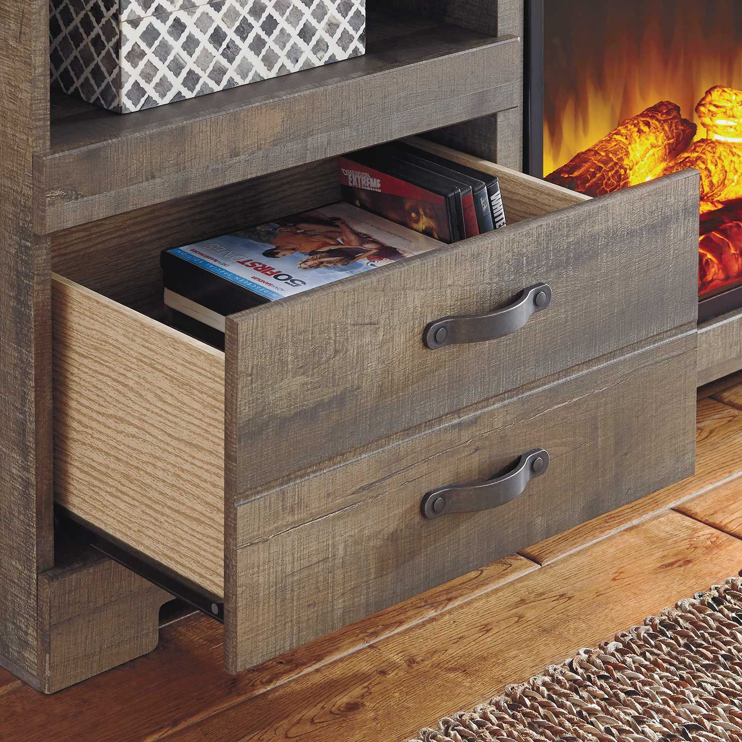 Picture of Trinell Fireplace Wall Unit
