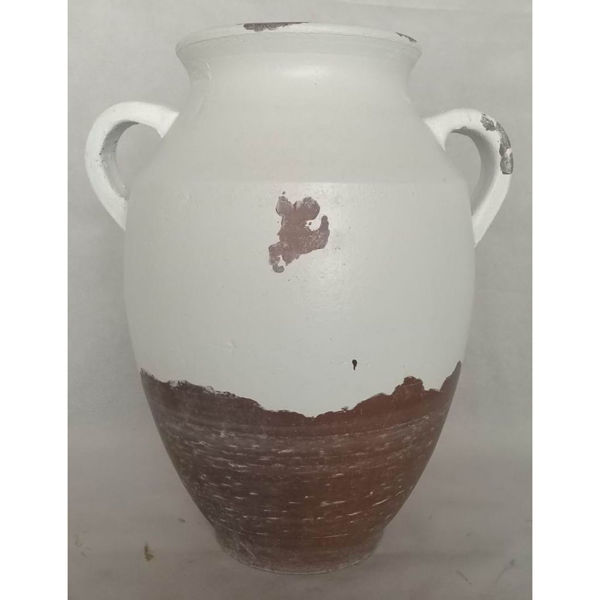 Picture of Tan Ivory Jug With Handles
