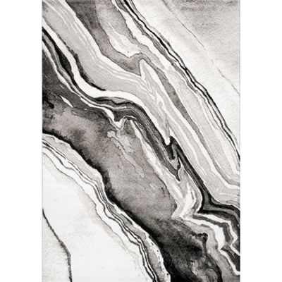 Picture of Chorus Waves of Grey 8x11 Rug