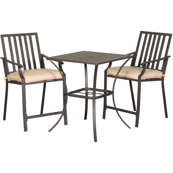 Picture of Mission Counter Height 3 Piece Balcony Set