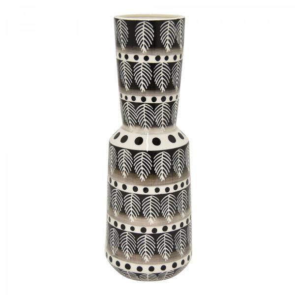 Picture of Black White Porcelain Vase