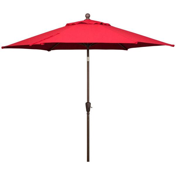 Picture of 9' Umbrella Tilt Push Button- Terra Cotta