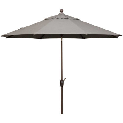 Picture of 9ft Auto Tilt Umbrella Charcoal