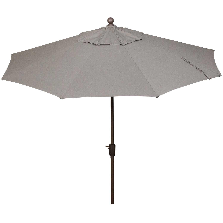 Picture of 9ft Auto Tilt Umbrella Charcoal