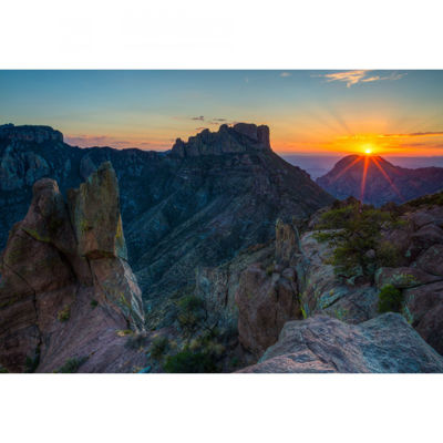 Picture of Lost Mine Trail Big Bend NP 32X48 *D