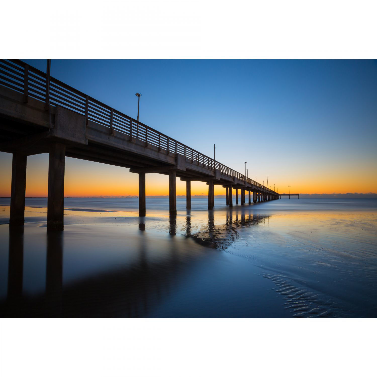 Picture of Horrance Caldwell Pier Dawn 32X48 *D