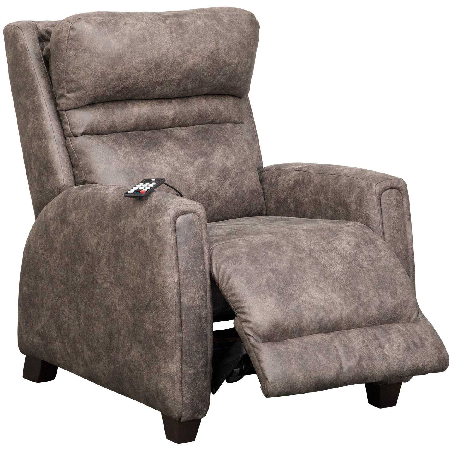 Picture of Turbo Brindle SoCozi Zero Gravity Power Recliner with Adjustable Headrest