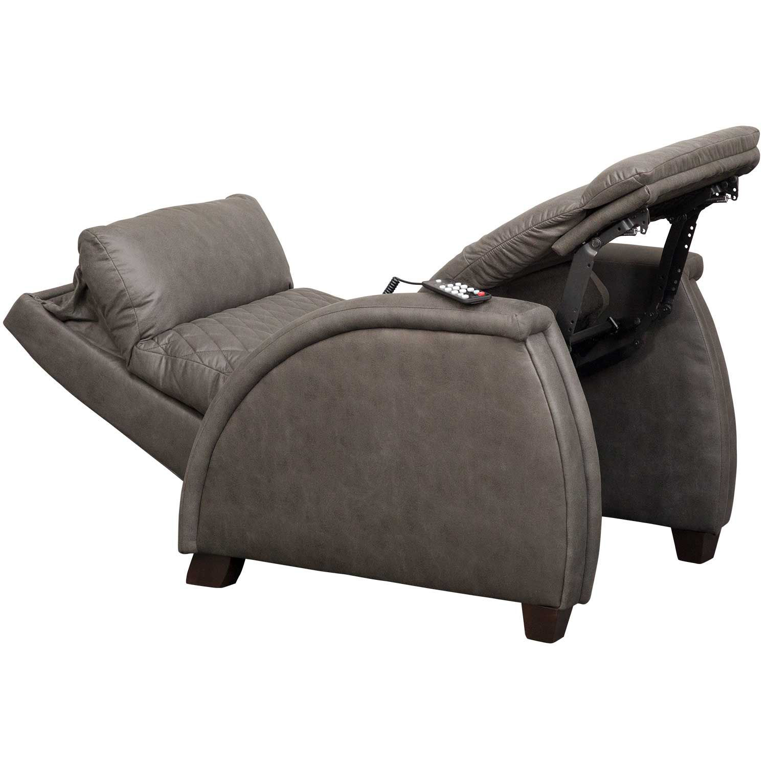 Picture of Jupiter Slate SoCozi Zero Gravity Power Recliner with Adjustable Headrest