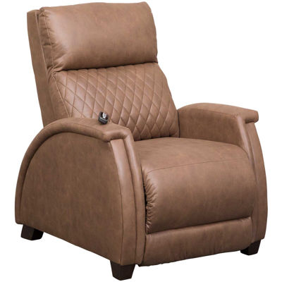 Picture of Jupiter Vintage Brown Zero Gravity Power Recliner with Adjustable Headrest