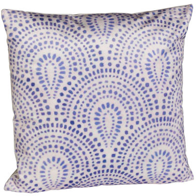 Picture of Blue Bursts 18x18 Pillow *P