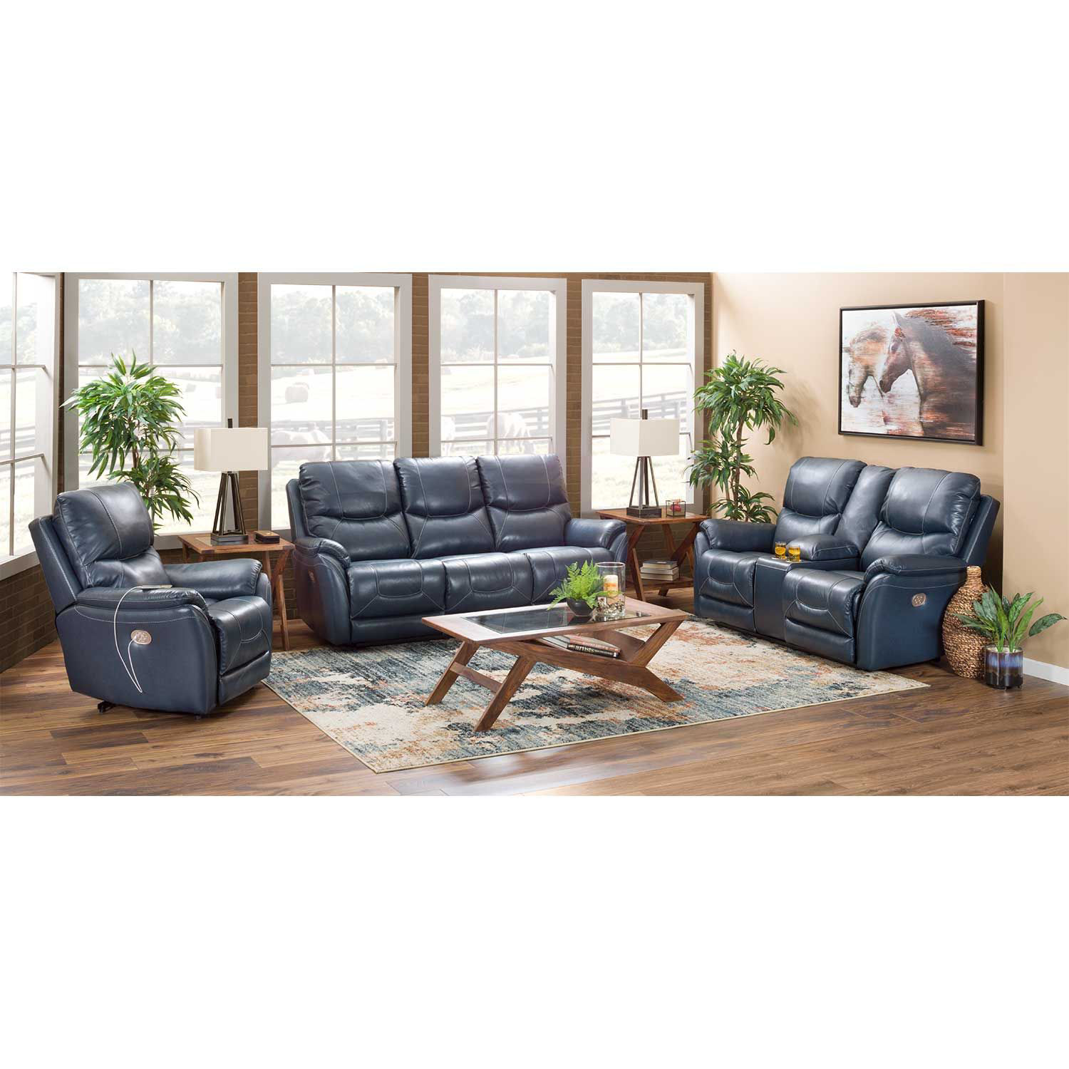 Picture of Dellington Marine Power Reclining Sofa with Adjustable Headrest and Lumbar