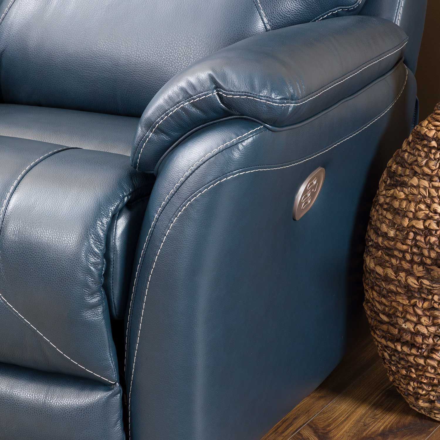 Picture of Dellington Marine Power Recliner with Adjustable Headrest and Lumbar