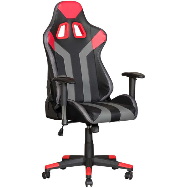 Picture of Black and Red Office Chair