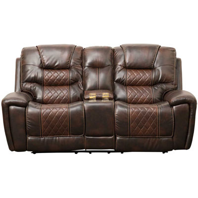 Picture of Weston Reclining Console Loveseat