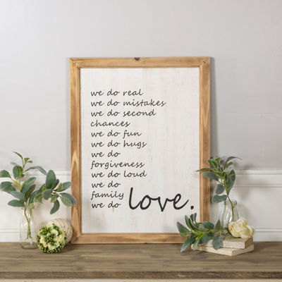 Picture of We Do Wood Sign
