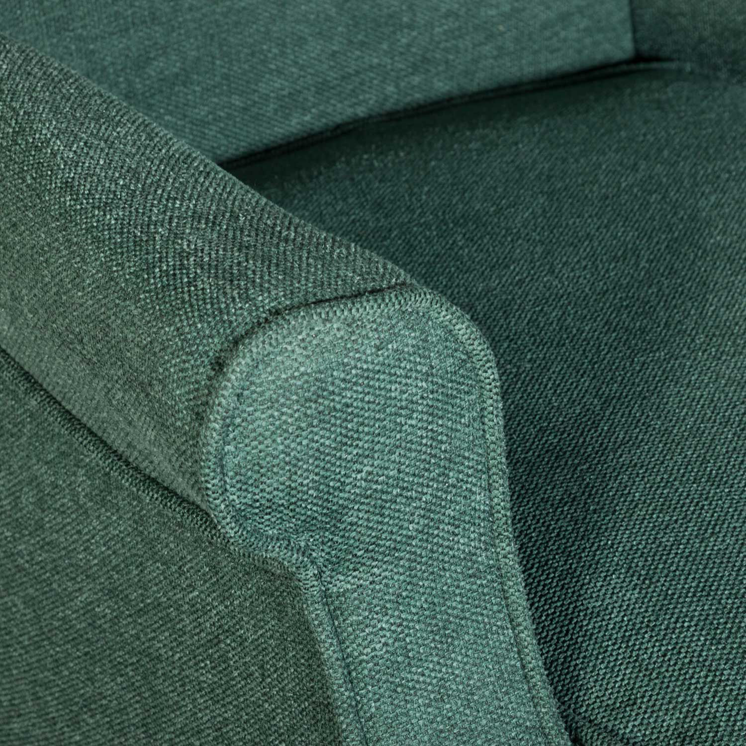Picture of Evelyn Dark Green Wing Back Chair