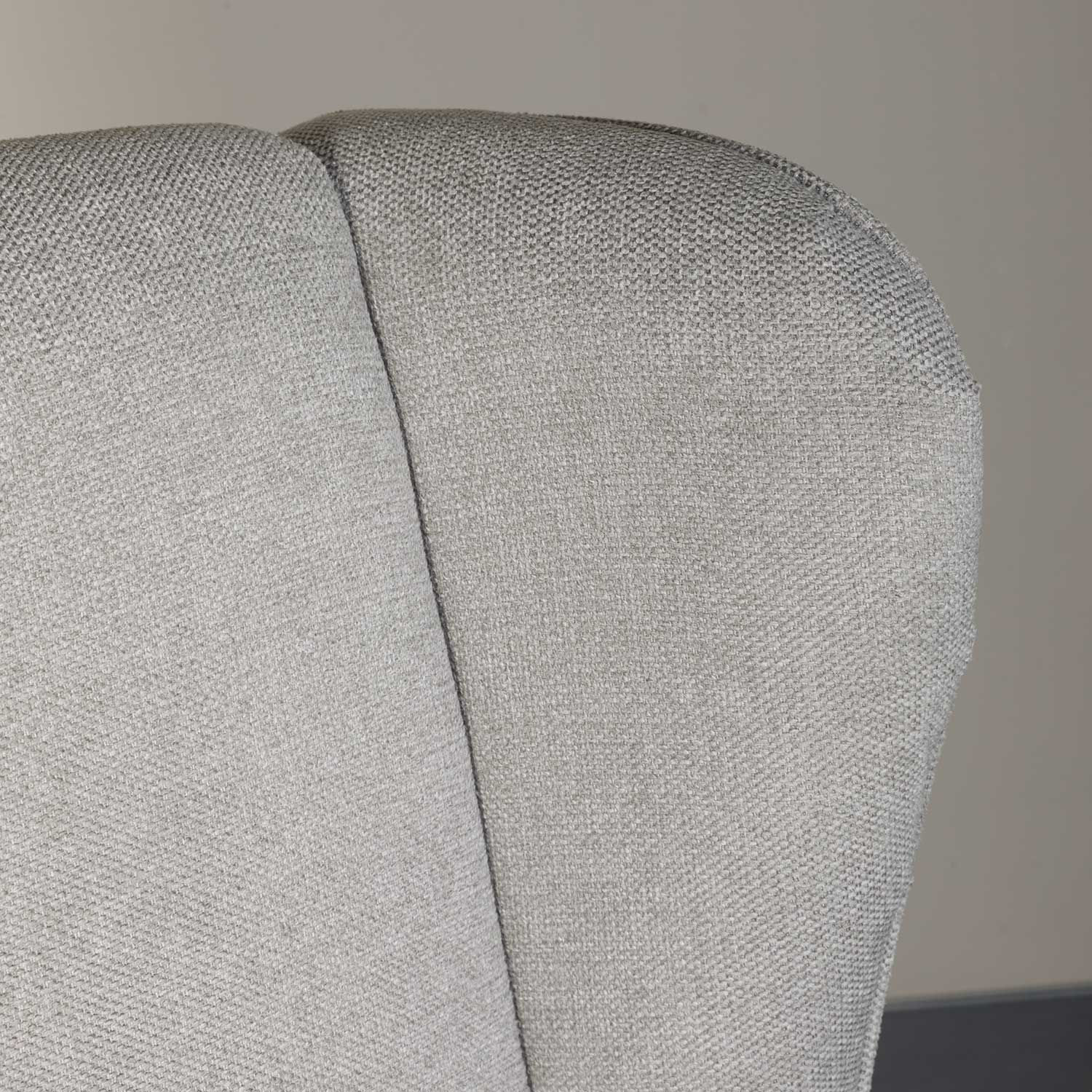 Picture of Evelyn Light Gray Wing Back Chair