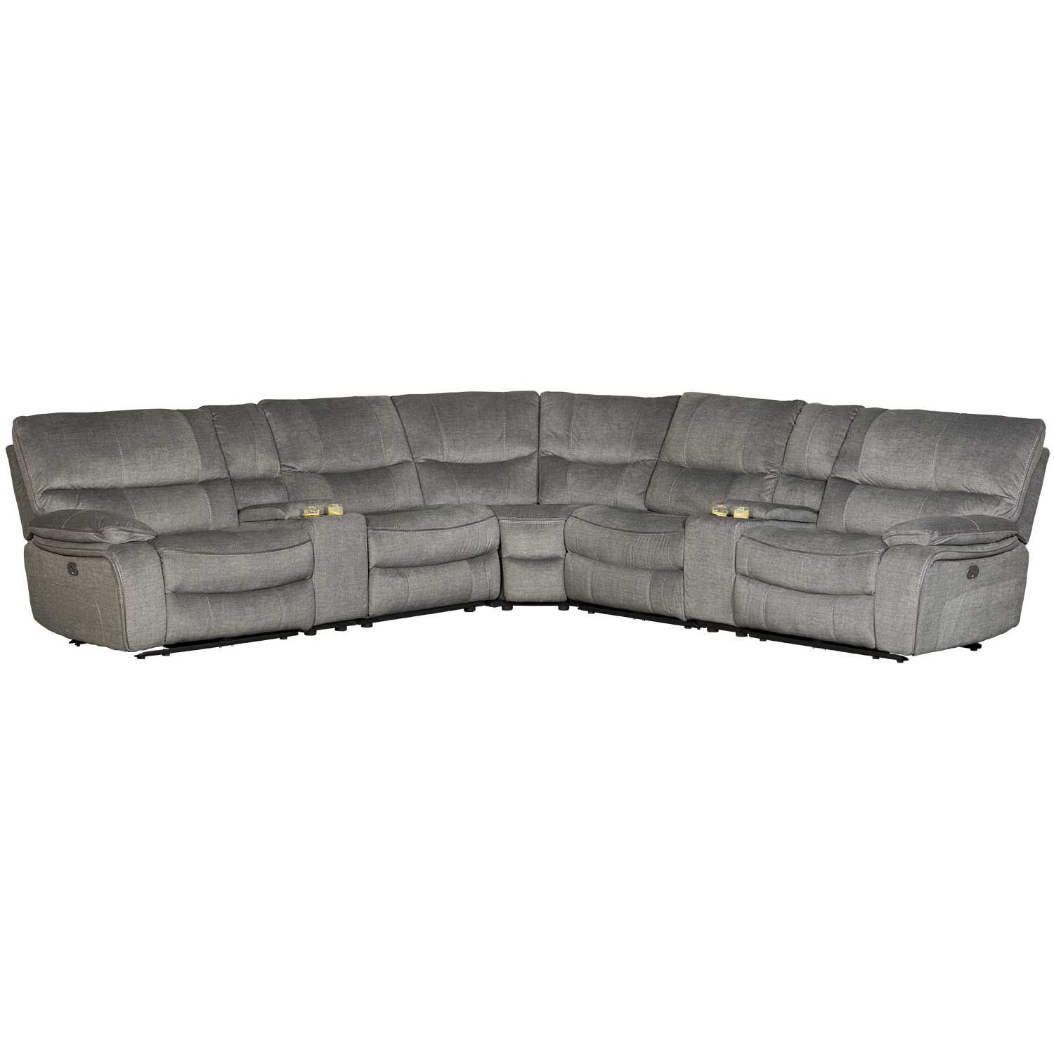 Picture of Pike 7 Piece Power Reclining Sectional with Power Adjustable Headrest