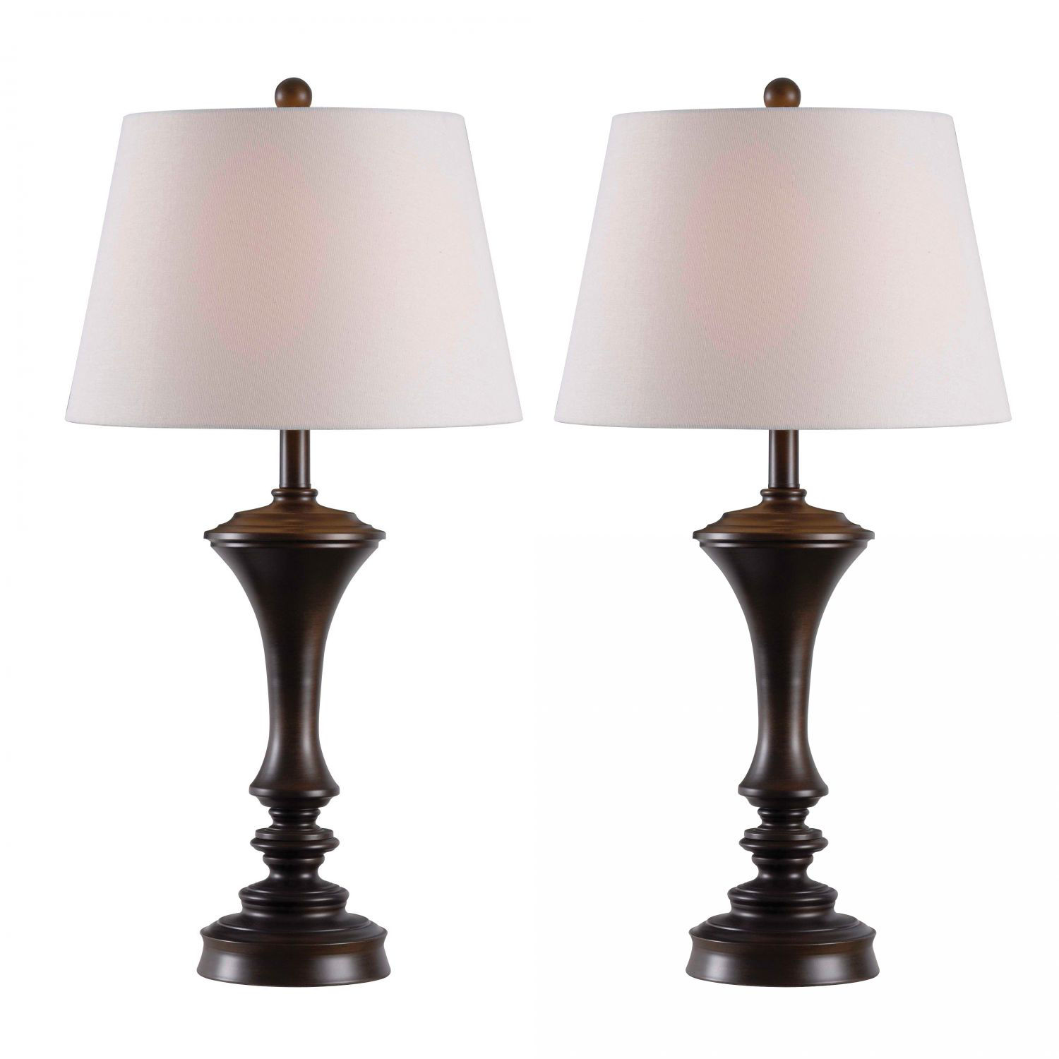 Picture of 2 Pack Turned Table Lamp
