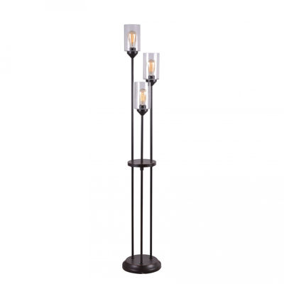 Picture of 3 Tiered Floor Lamp with Bulbs