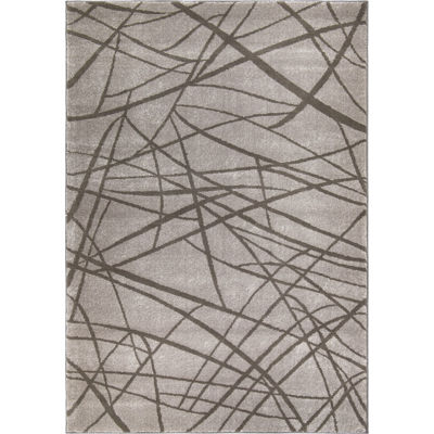 Picture of Mirage Abstract Branches 8x10 Rug