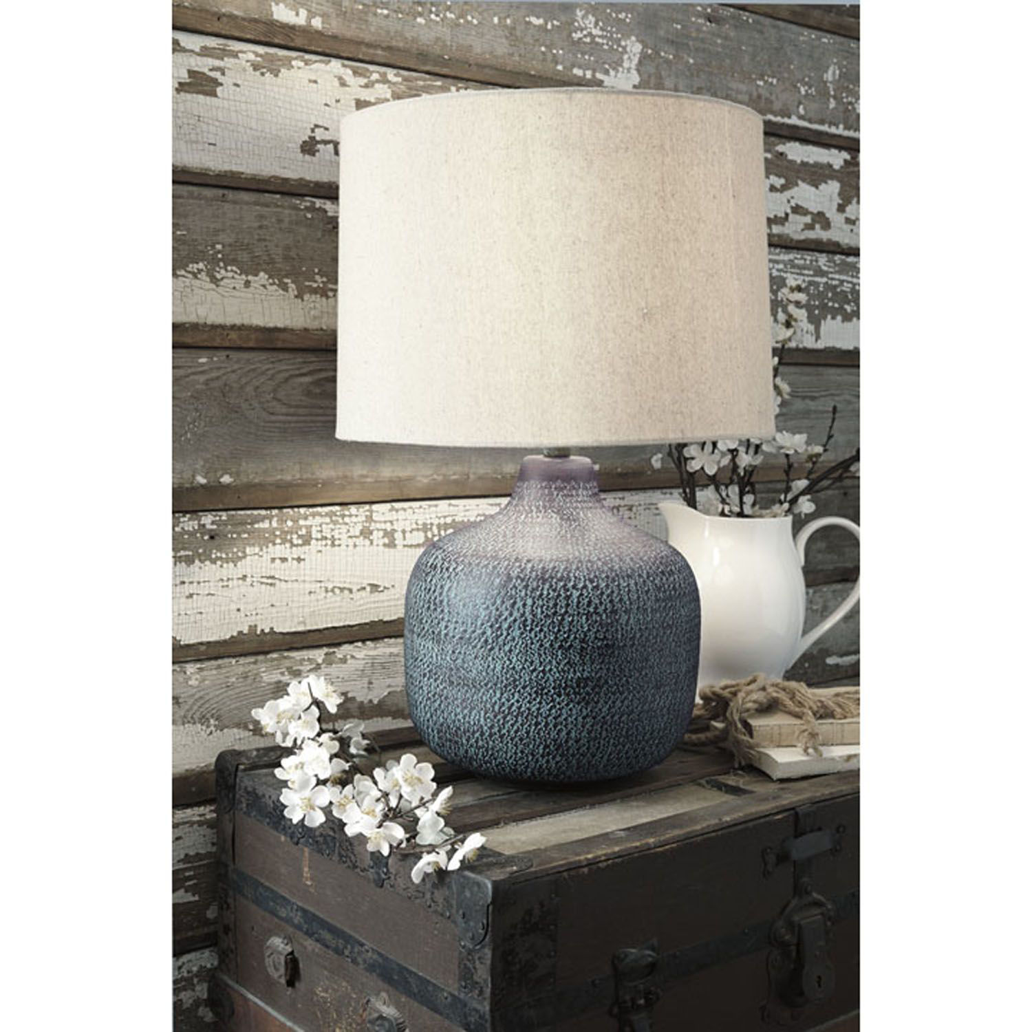 Picture of Malthace Hammered Table Lamp