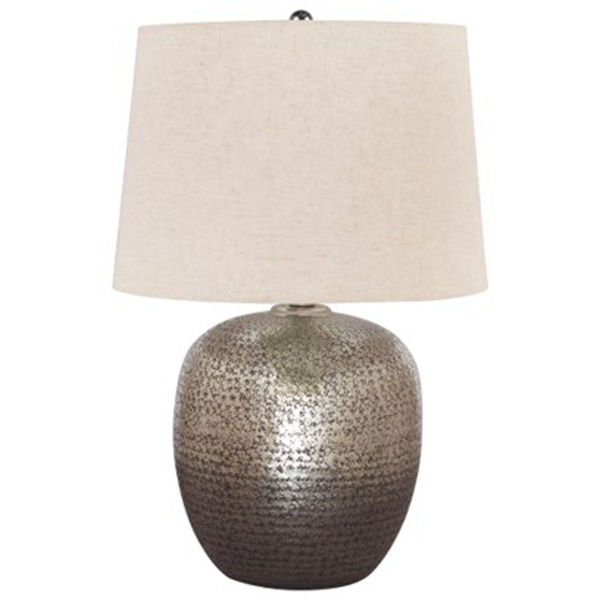 Picture of Magalie Silver Hammered Table Lamp