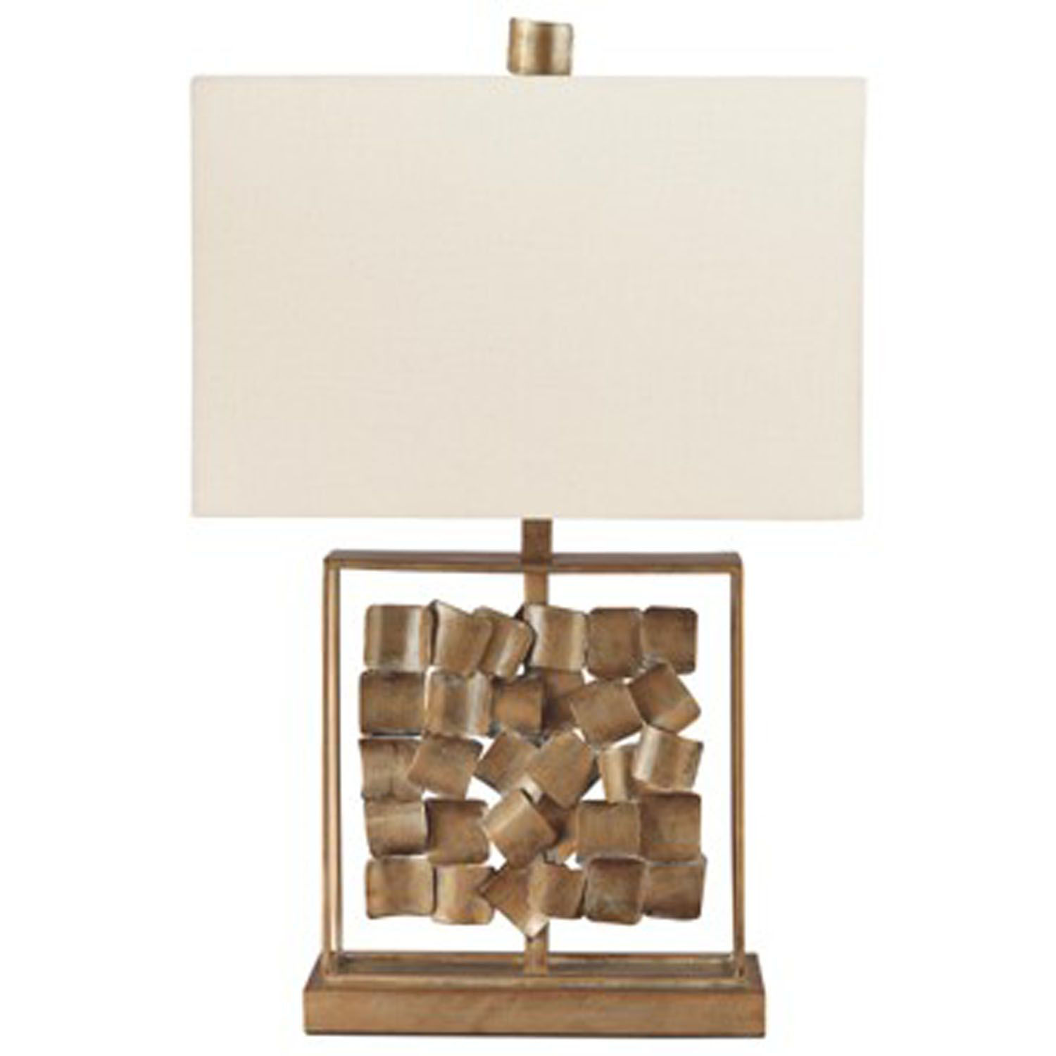 Picture of Evera Gold Sculpture Table Lamp