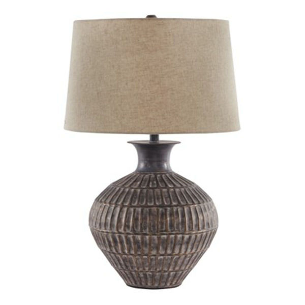 Picture of Magan Bronze Metal Table Lamp