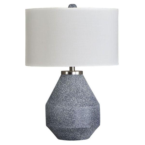 Picture of Kristeva Blue Metal Table Lamp
