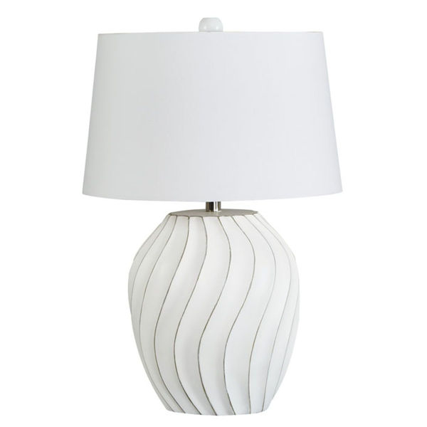 Picture of Hidago White Table Lamp