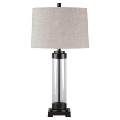 Picture of Talay Glass Cylinder Table Lamp