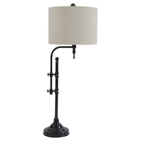 Picture of Anemoon Black Metal Table Lamp