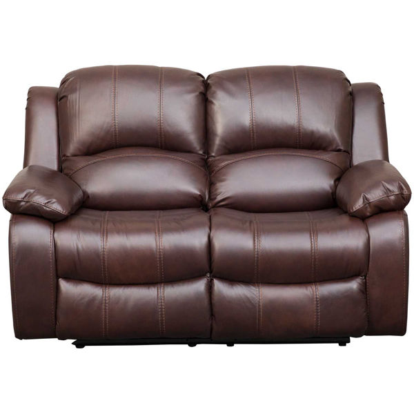 Picture of Kent Leather Power Recline Loveseat