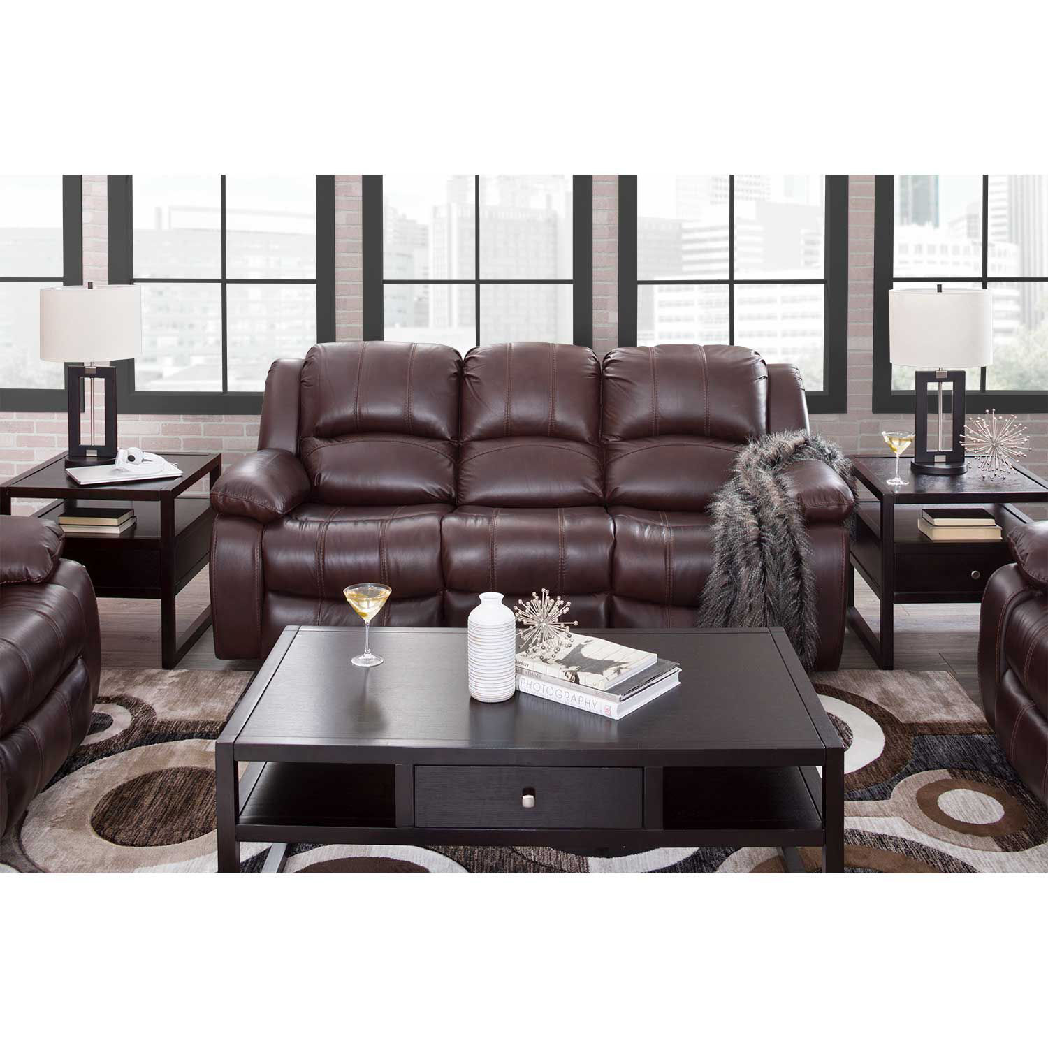 Picture of Kent Leather Power Recline Sofa