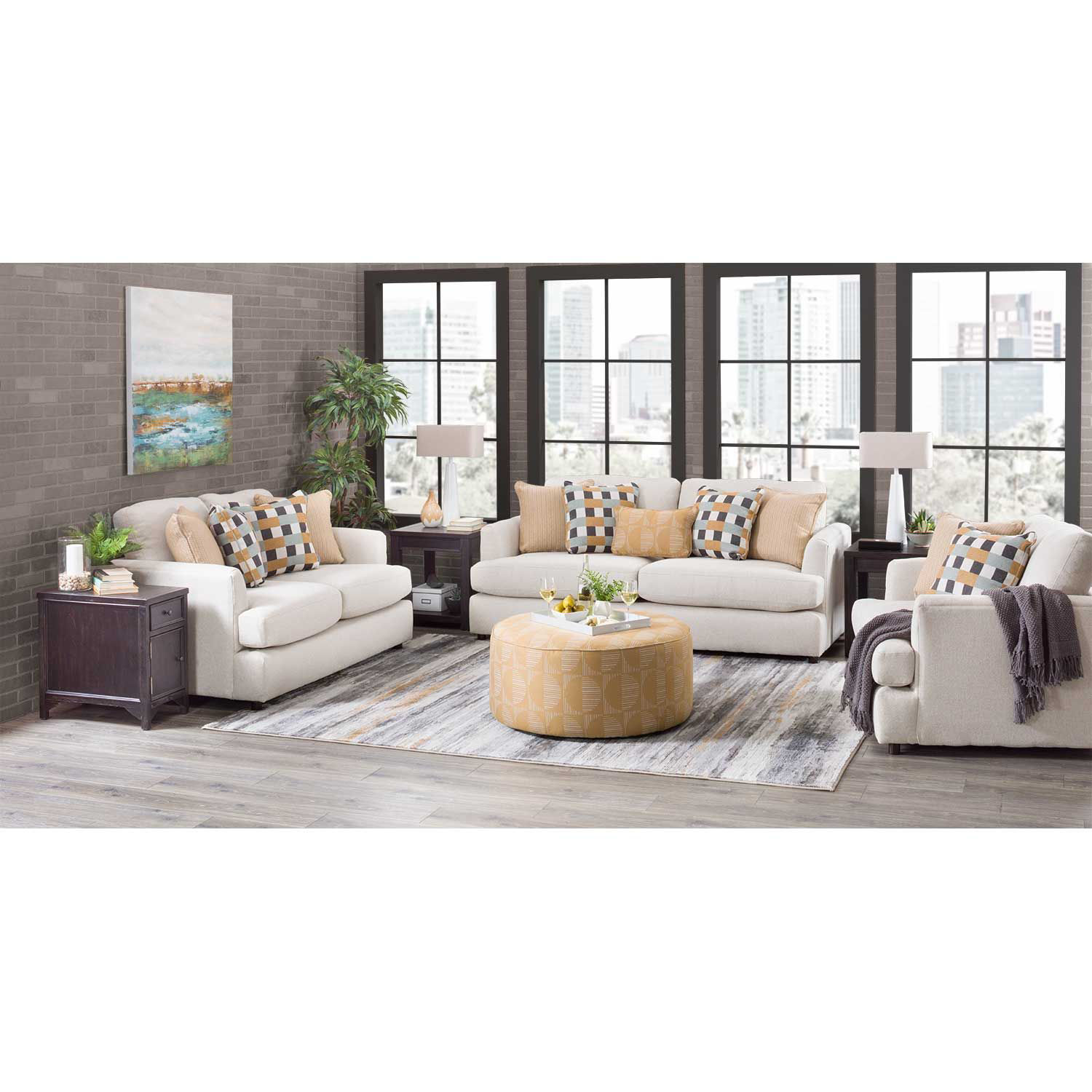 Picture of Kyra Linen Oversized Chair