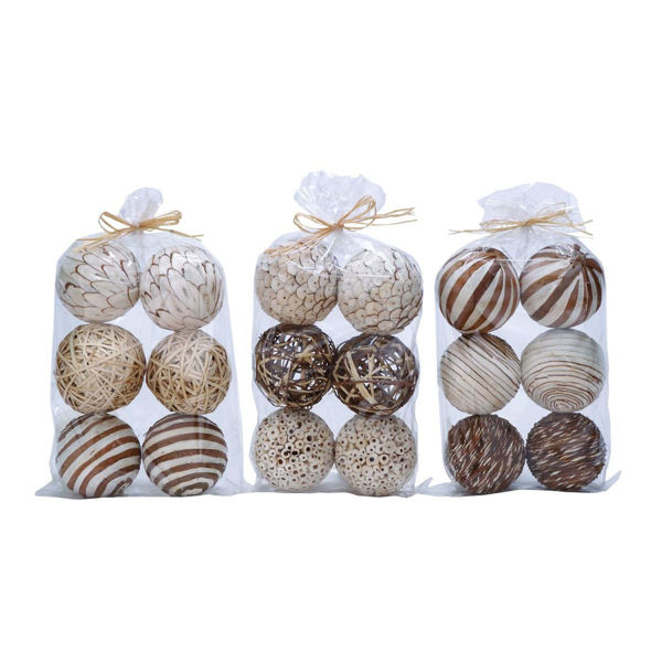 Picture of Natural Ball Assorted Bag