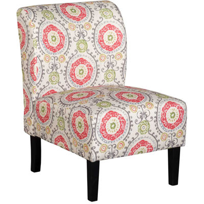 Picture of Belle Orange Medallion Armless Chair