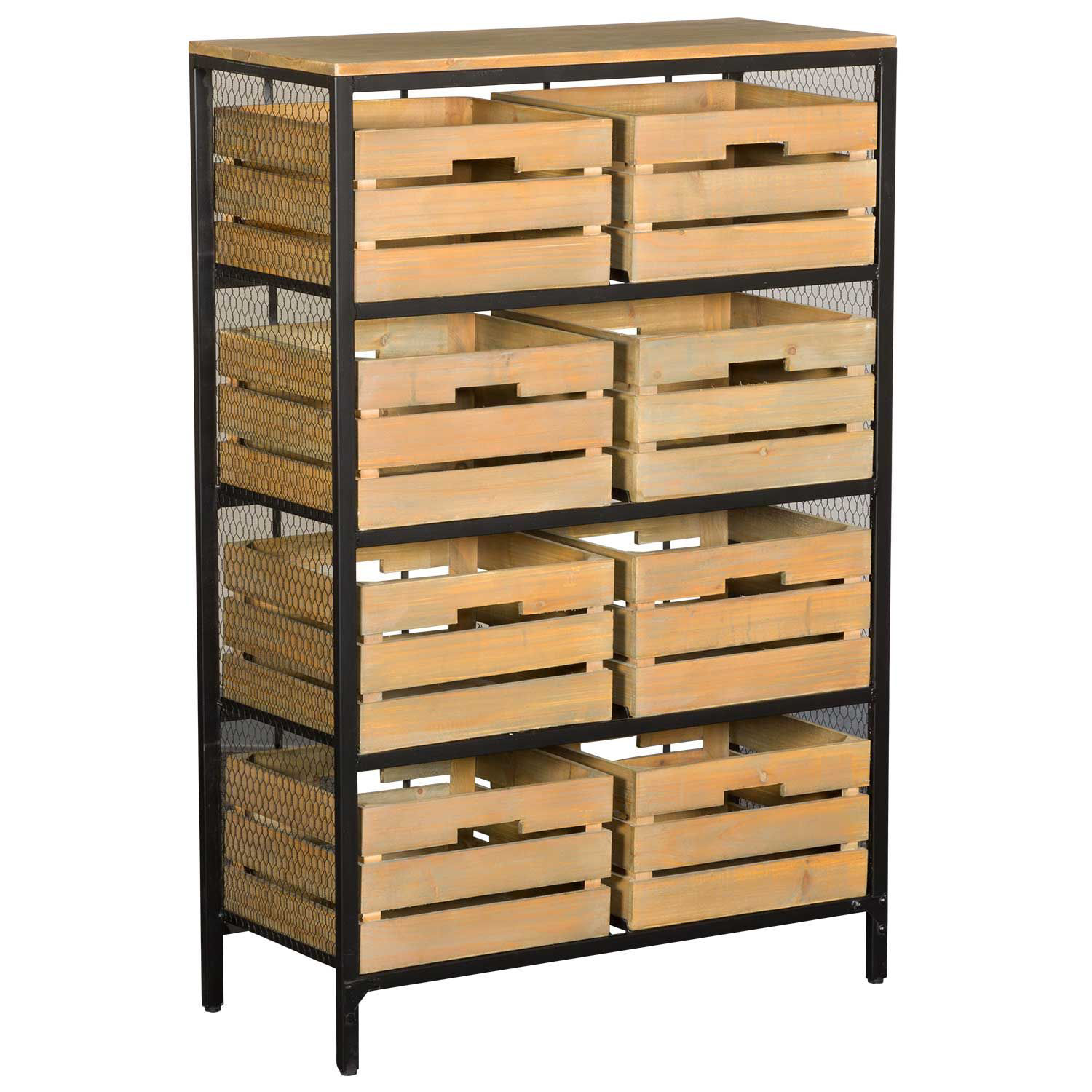 Picture of Industrial Crate Cabinet