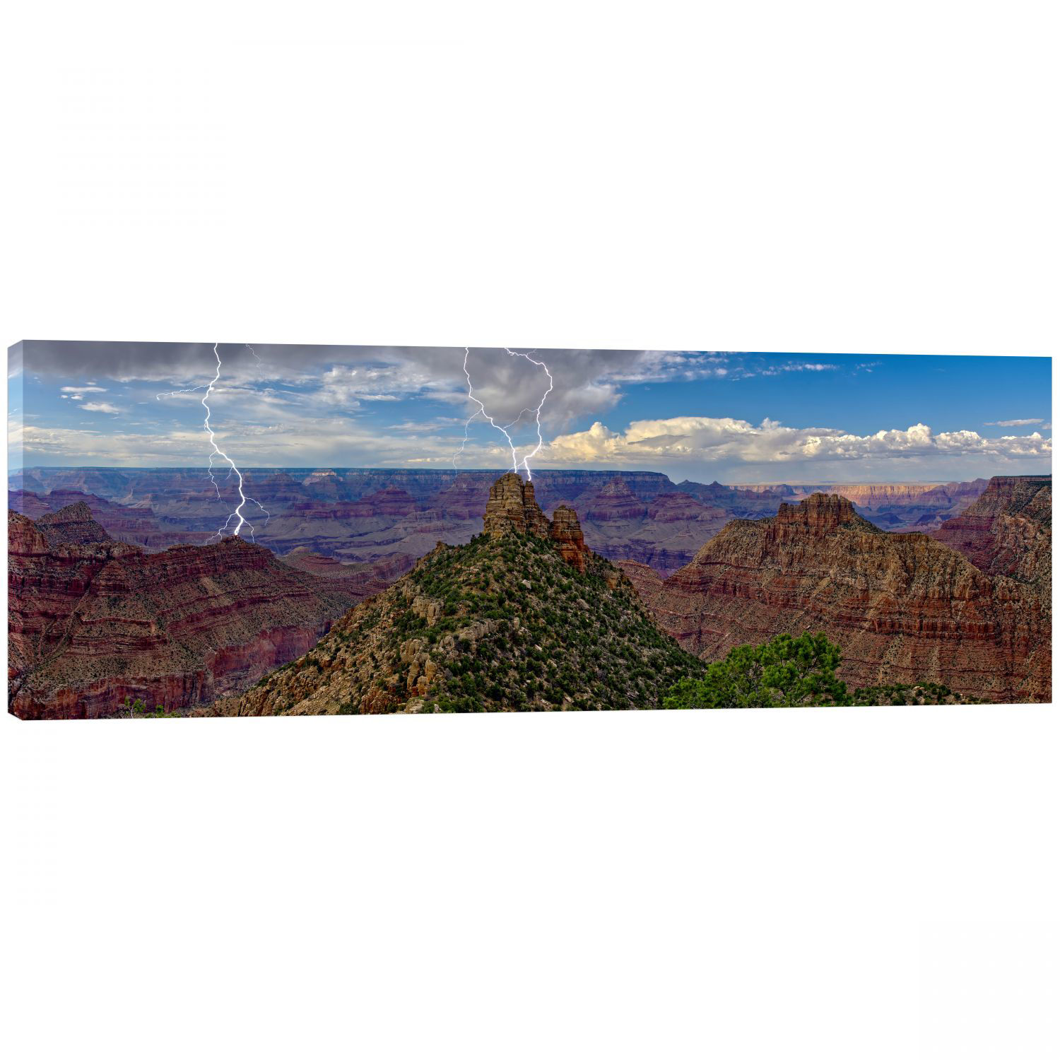 Picture of Lightning Storm over Grand Canyon's Sinking Ship 2 60x20 *D