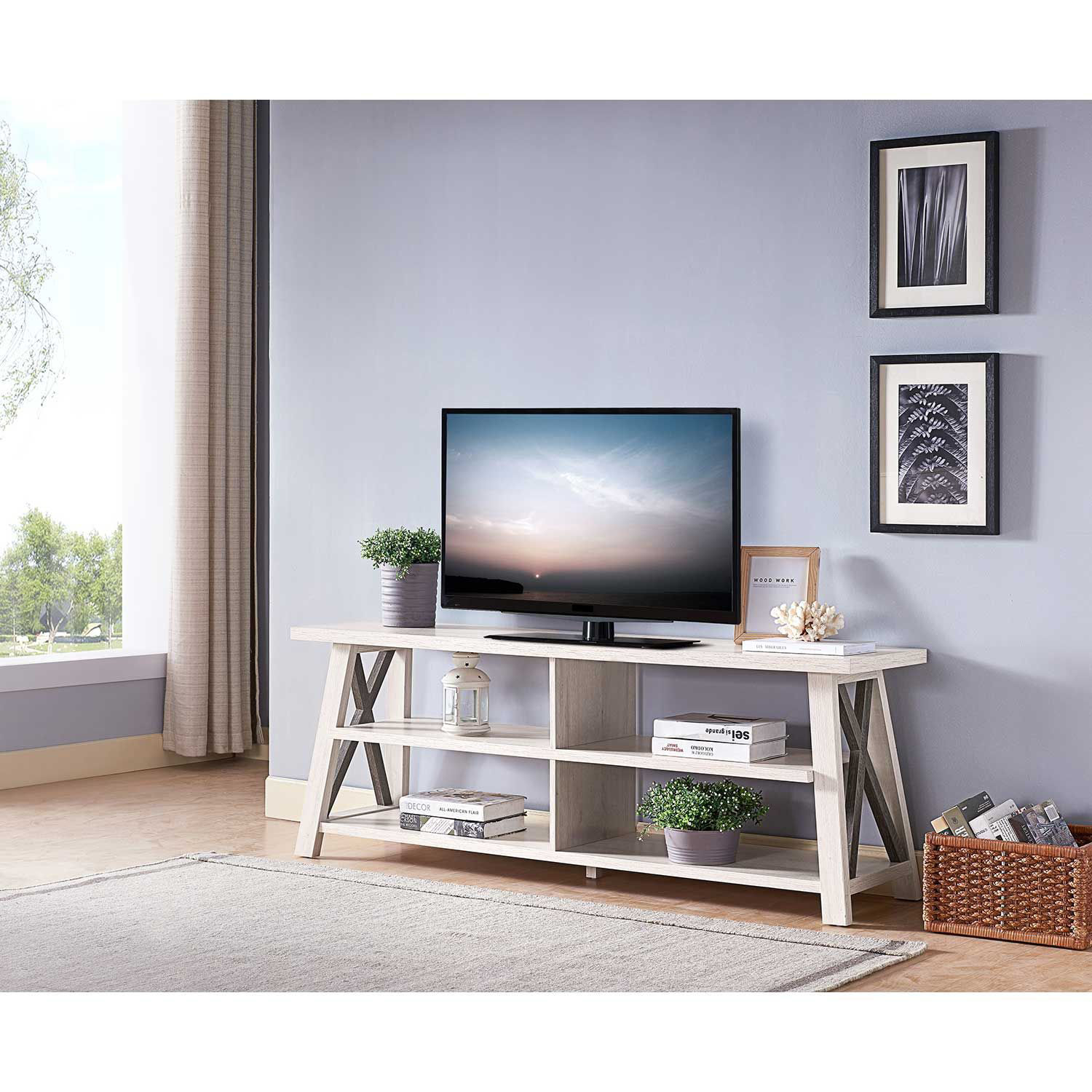 Picture of Two Tone Tv Stand