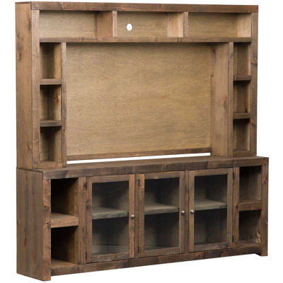 "Picture of Avery Loft 84"" TV Console With Hutch"