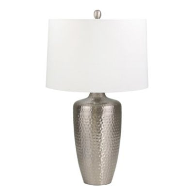 Picture of Silver Hammered Table Lamp