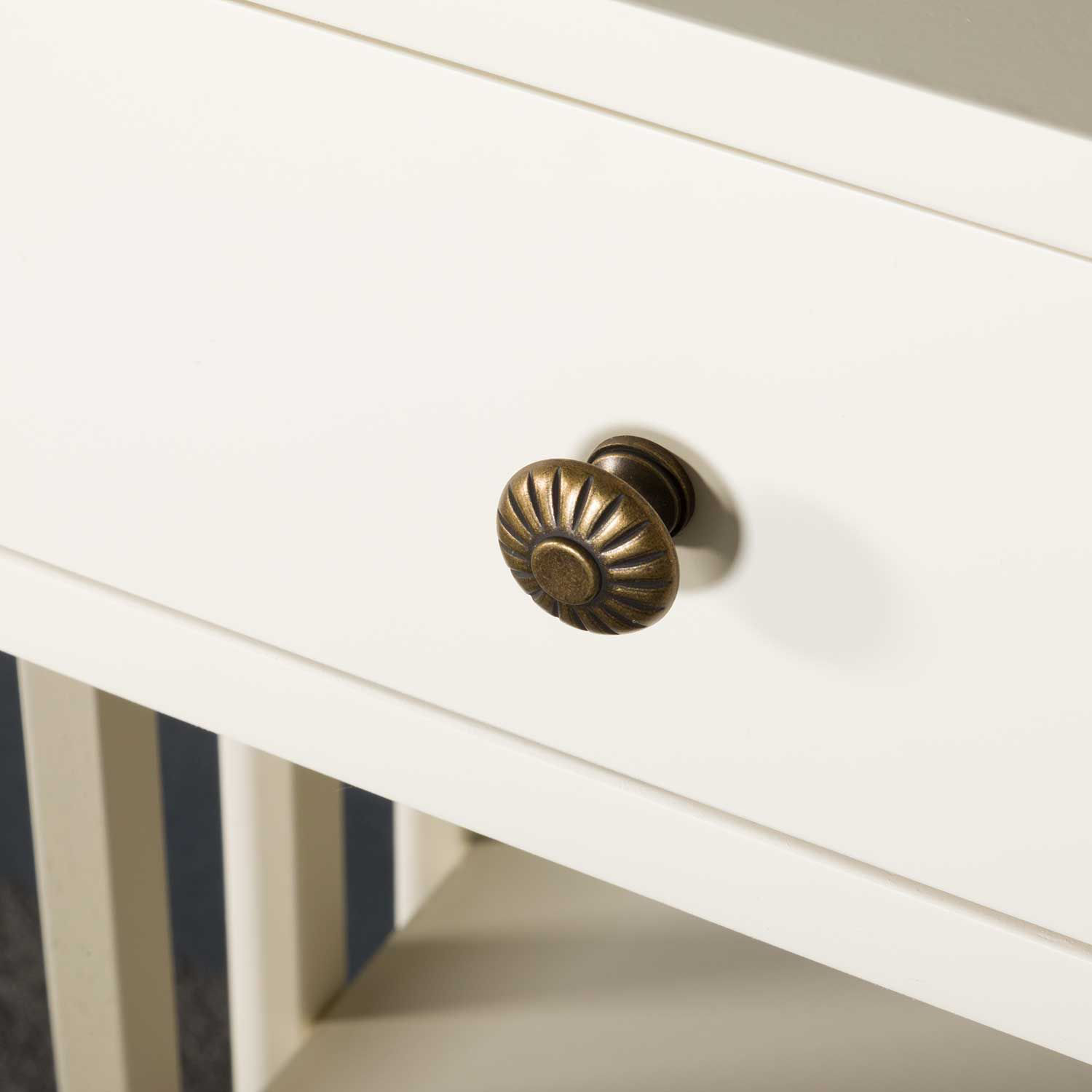 Picture of White Craftsman Side Table