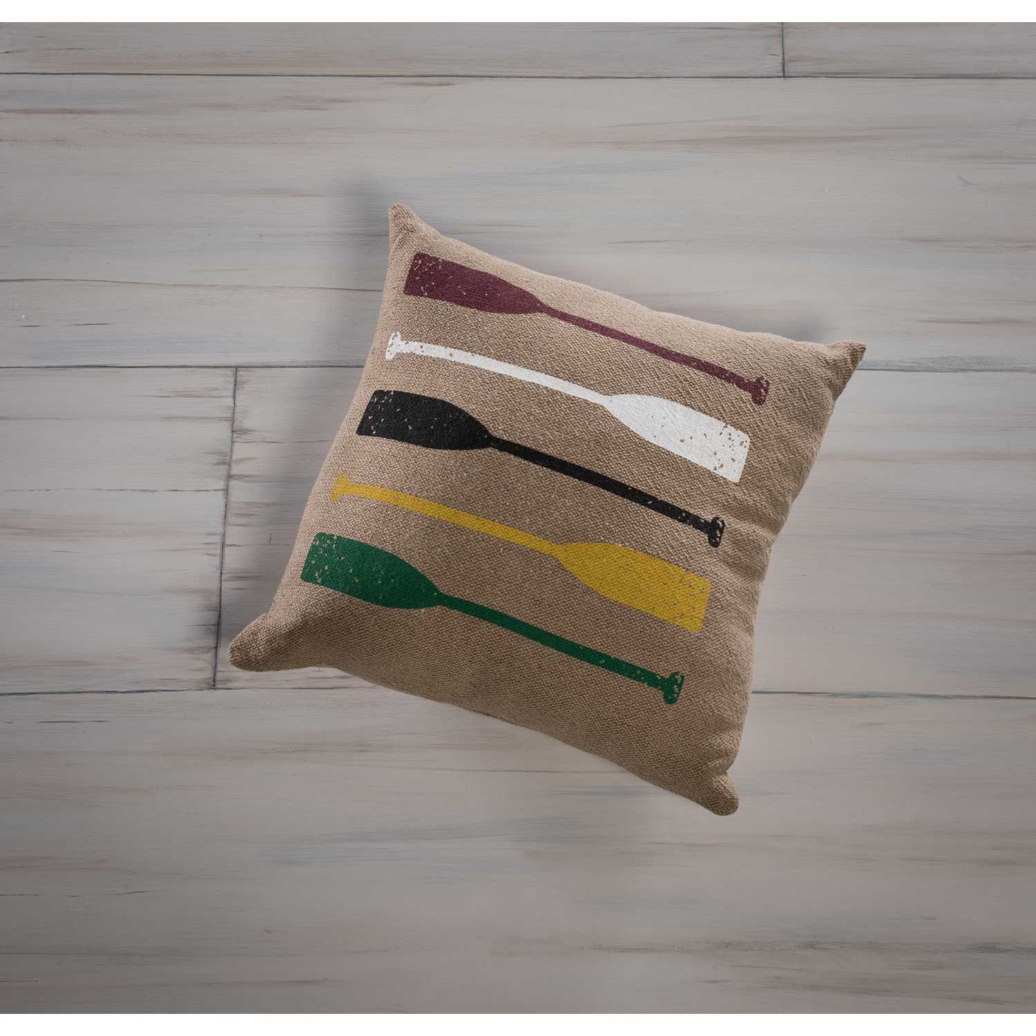 Picture of Paddles Pillow 20x20 Inch